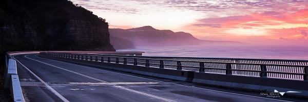 Sea Cliff Bridge by SteveHarry