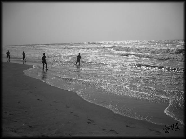 Kids playing by Sushanta