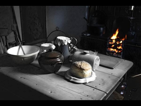 No jam for tea today by Albright