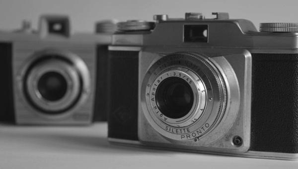 Vintage cameras by DrewAnderson