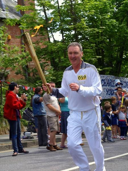 Olympic Torch Runner by carpmanstu