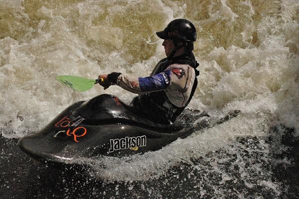 battling the rapids by gazlowe