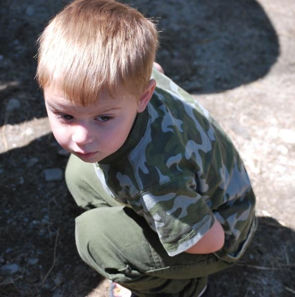 The Little Man by Mychael