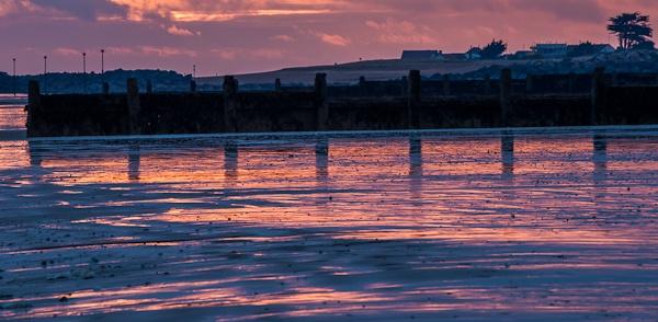 Atherington Sunset by JJGEE