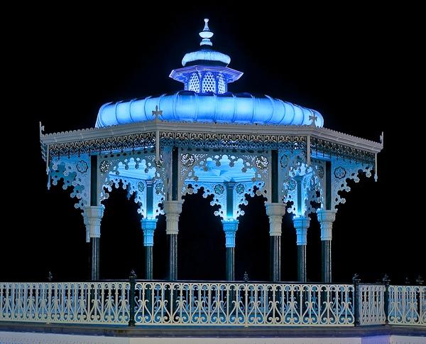 Blue Bandstand by JJGEE