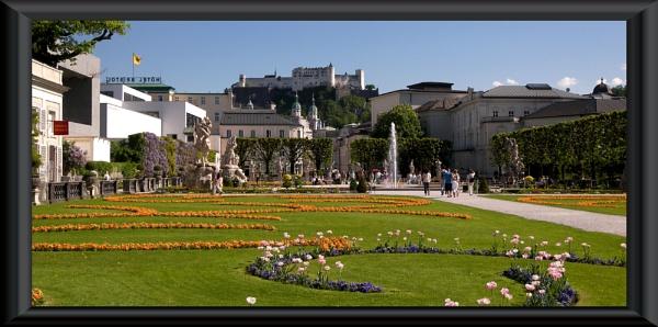 Salzburg Castle by danmclean