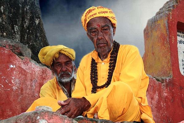 The Indian Sadhus. by PradyothChakraborty
