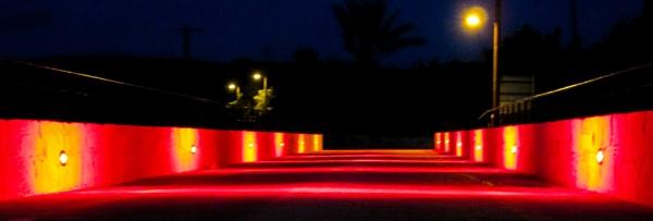 Illuminated bridge by meniko