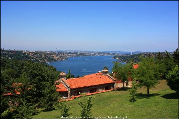 Bosphorus, Cemile Sultan Korusu, Uskudar, Istanbul by photosofturkey