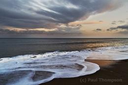 Evening at the coast 2