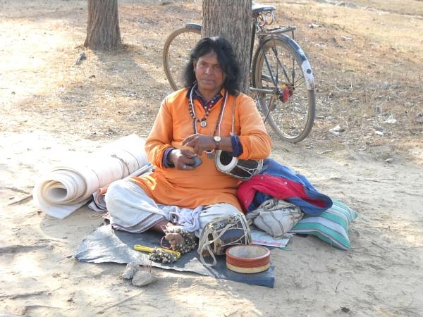Baul Singer. by BHUBAN