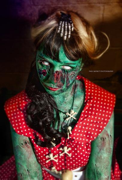 \'Poor Little Zombie Girl\' by paulbaybutphotography