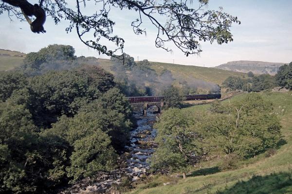 What a glorious day on the Settle & Carlisle Railway. by SimonLathlane