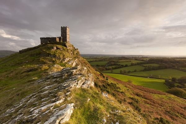 Brentor Church, Dartmoor National Park, Devon by Snowden1