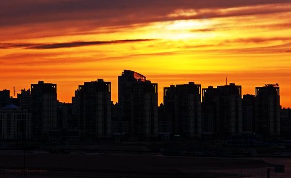 St Petersburg sunrise by TT999