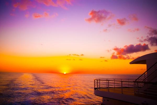 Atlantic Sunset by Ian01