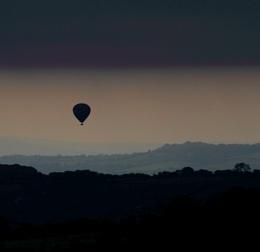 Balloon Flight at Dawn