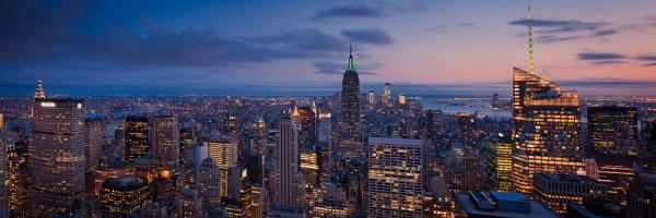 Manhattan Skyline by BigCol