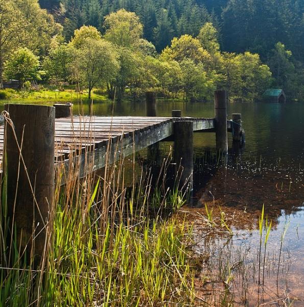 The Jetty, (Loch Ard) by bill33