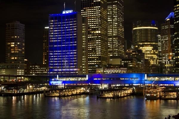 Vivid Light Festival - Sydney by OzzyApple