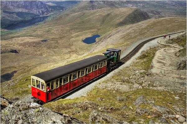 The Snowdon Train by MossyOak