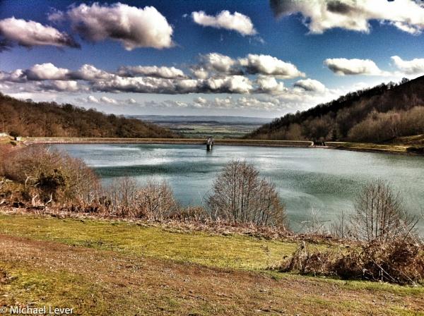 Reservoir at British Camp, (Malvern Hills) Herefordshire by michaelofledbury