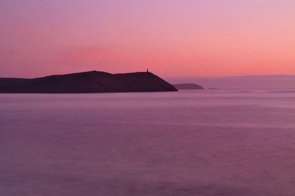 Misty Sunset by jamminshots