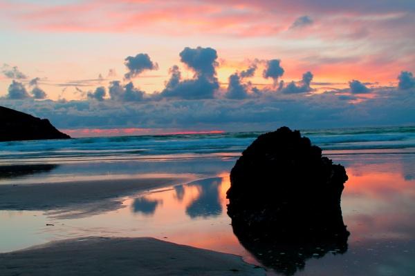 Newquay Sunset by jamminshots