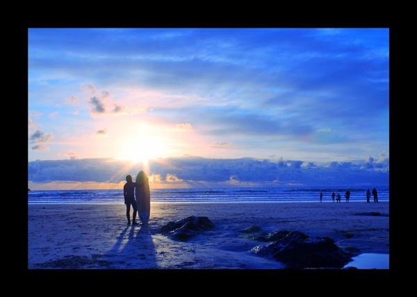 Aquatic Sunset by jamminshots