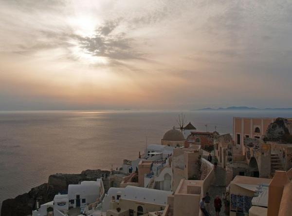 Santorini Sunset by gossyboy