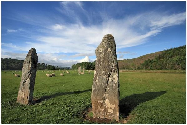 Kilmartin Glen Standing Stones by maryg