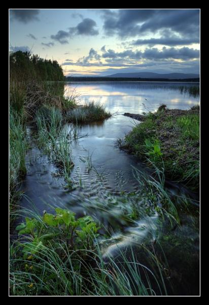 Burn Loch Morlich by almiles
