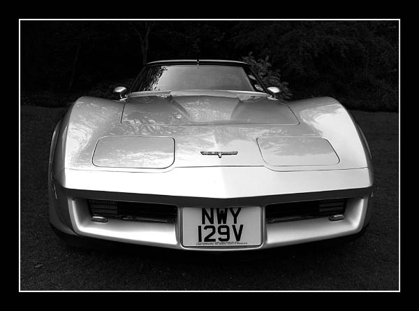 Silver Corvette by Montana5