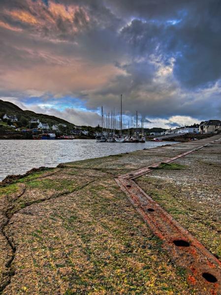 Kyleakin Harbour  Isle of Skye. by bill33