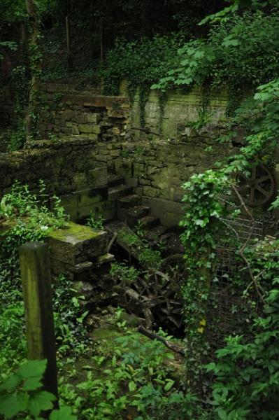 Pumping Station Ruin by kirkoid