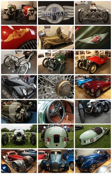 Morgan Cars Collage by DicksPics
