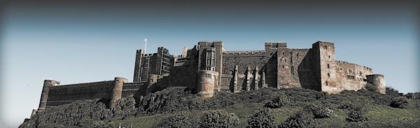 Bamburgh Castle by clintQB
