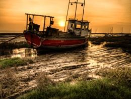 Sunset on the Dee Estuary