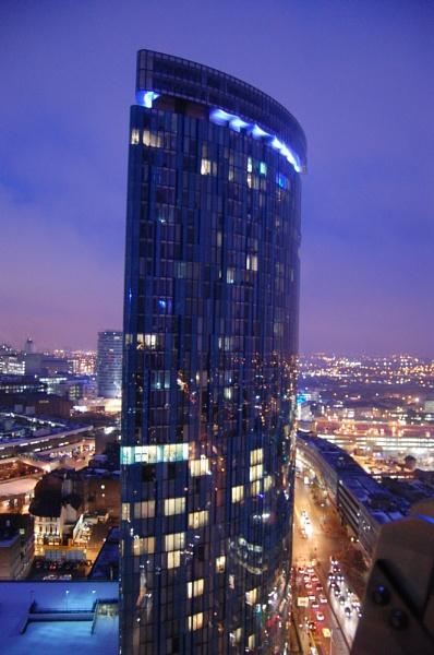 Birmingham by night by unkiejubjub