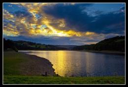 Golden Sunset at Dam Flask - Bradfield