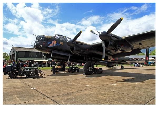 \'JUST JANE\'  EK43 (40\'s weekend) RAF East Kirkby sunday by crapsnap