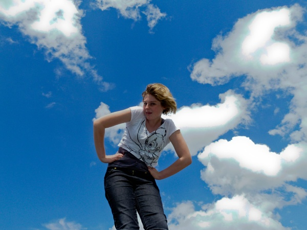 Robyn with Big Sky by searlem