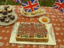 Lovely homemade party Jubilee food