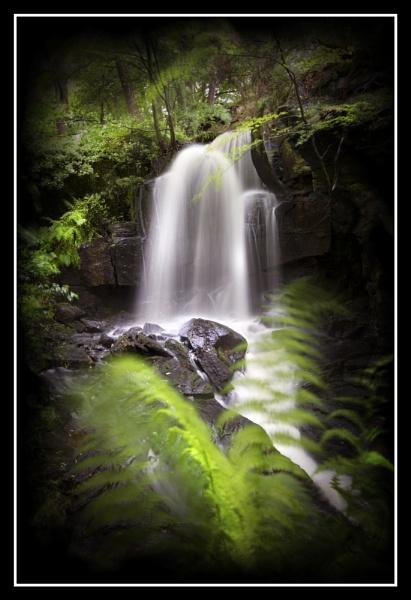 Lumsdale Falls by cyman1964uk