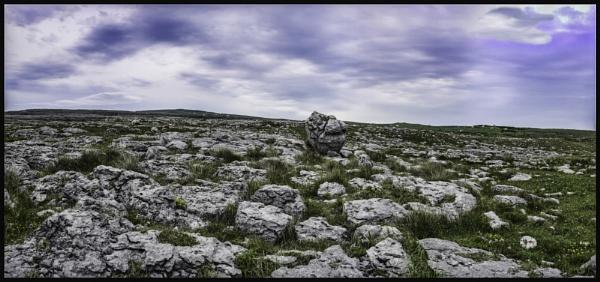 Irish stone landscape by Roadracoon