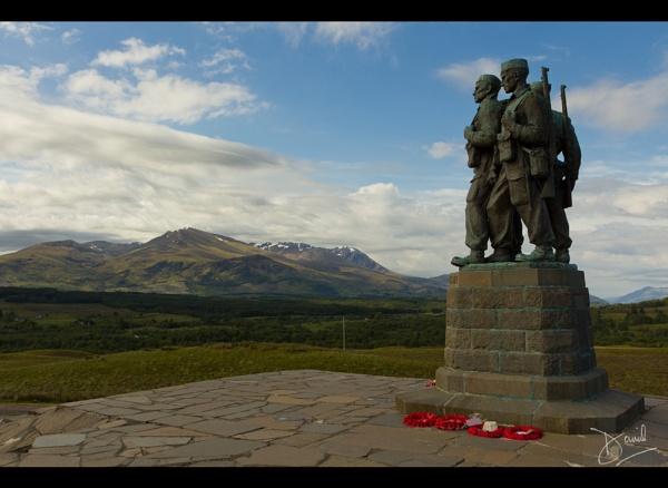 The Commando Memorial by dtomo68