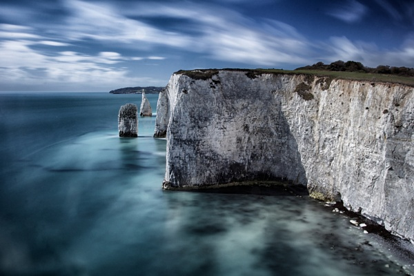 Studland Bay Stacks by marktc