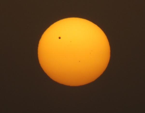 Venus Transit;   June 6, 2012;   0545Hrs by RockBalany