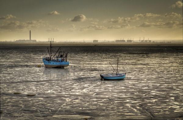 Blue Boats by ridgers4