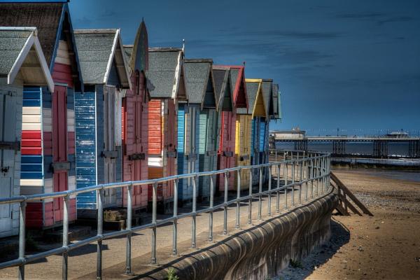 Beach Huts by wardp